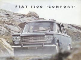 1500 'Confort' Sedan brochure, 8 pages, 2/1967, Dutch language