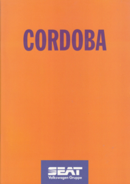 Cordoba brochure, 28 pages, 08/1994, A4-size, German language