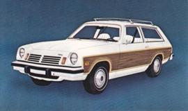Vega Wagon,  US postcard, standard size, 1975