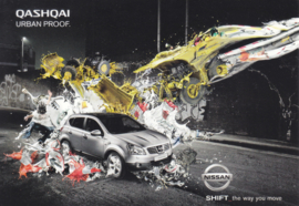 Qashqai postcard, DIN A6-size, about 2012, English language