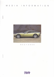Media pack for NEC 2000, 14 pages + cover, English language, 2000 *