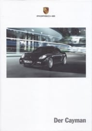 Cayman brochure, 140 pages, 12/2011, hard covers, German