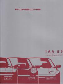 Program IAA brochure 1989, 12 pages, WMA 09/89, German language