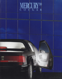 Cougar brochure, 24 pages, 10/1988, # P-7218, USA