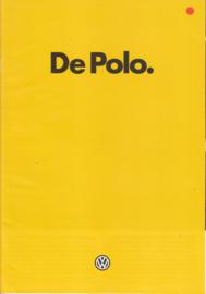 Polo 3-door brochure, A4-size, 24 pages, 1/1982, Dutch language