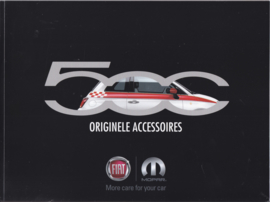 500 accessories brochure, 44 pages, A4-size, 09/2015, Dutch language