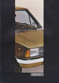 Program all models brochure, 12 pages, DIN A4-size, about 1980, Dutch language
