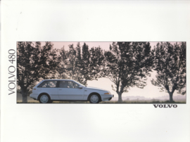 480 Coupé brochure, 38 pages, Dutch language, BV 5591-90