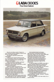 1300 ES 4-Door Saloon leaflet, 2 pages, about 1979, UK, English language