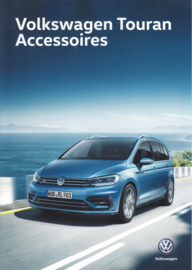 Touran accessories brochure, A4-size, 4 pages, 2018, Dutch language