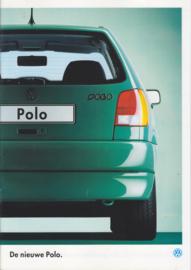 Polo Hatchback brochure, A4-size, 16 pages + specs., Dutch language, 08/1994