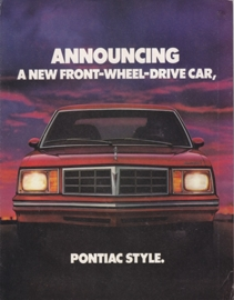 Phoenix Hatchback & Coupe 1980 models, 12 pages, USA