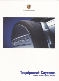 Cayenne Tequipment brochure, 32 pages, 08/2002, German