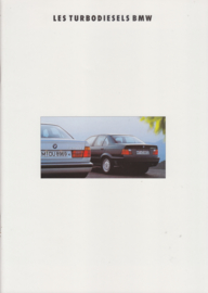 3/5-Series Turbo Diesel brochure, 40 pages, A4-size, 2/1992, French language