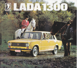 1300 Sedan brochure, 12 pages, about 1978, Dutch language