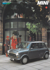 Mini 1000 brochure, 4 pages, German language, about 1984
