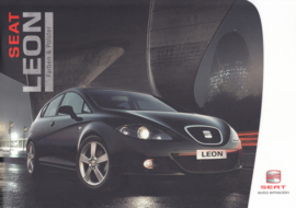 Leon II colours & upholstery brochure, 4 pages, 04/2006, German language