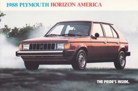 Horizon America, US postcard, continental size, 1988