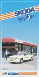 Accessories brochure, 12 pages, Dutch language, about 1986