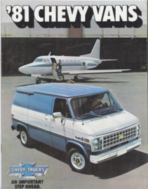 Chevy Vans, 12 pages, 07/1980, English language, USA