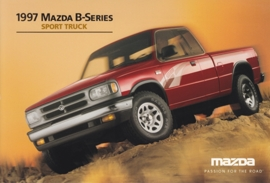 B-Series Sport Truck, 1997, US postcard, A5-size