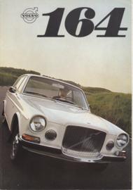 164 Sedan V6 brochure, 6 pages, Dutch language, 08/1968