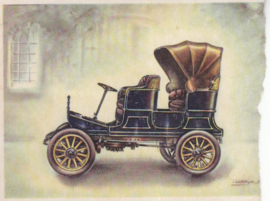 Standard 4-seater 1 cylinder 1903, Full Speed, Dutch language, # 12