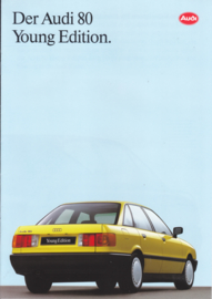 80 Young Edition brochure, 8 pages, 01/1991, German language