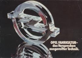 Program brochure, 8 pages, 09/1976, German language