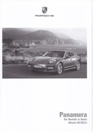 Panamera pricelist, 140 pages, 05/2011, German