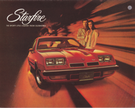 Starfire folder 1975, 4 pages, USA