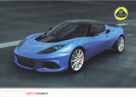Evora GT 430 Sport leaflet, 2 pages, DIN A4-size, factory-issued, English language