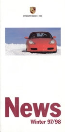 News, Winter 1997/98, 12 pages, 10/97, German, small size