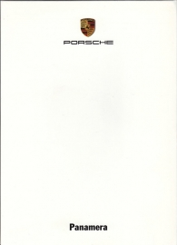 Panamera, A6-size set with 6 postcards in white cover, 2009, WSRP 0901 08S2 00
