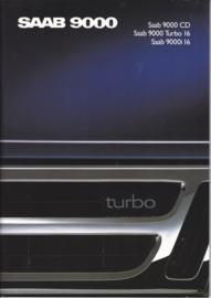 9000 brochure, 64 pages, 1989, Dutch language, # 250209