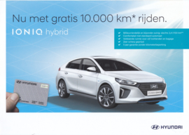 Ioniq Hybrid leaflet, 2 pages, 2017, Dutch language