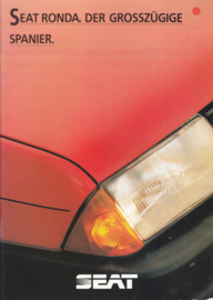 Ronda brochure, 24 pages, German language, 09/1983, # 063
