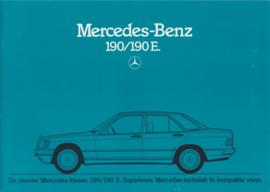 190/190E brochure, 32 pages, 10/1982, Dutch language