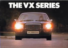 VX Series program, 16 pages, English language, V2314, 2-1976, UK
