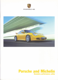 Michelin tyres for Porsche brochure, 24 pages, 03/2004, English language