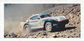 959 Paris-Dakar,  foldcard, 2002, WVK 400 500 02