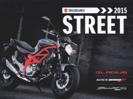 Suzuki Street brochure, 8 pages, #99999-STRUB-A15, 2015, Dutch language