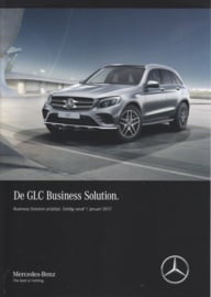 GLC Business Solution special edition brochure, 4 pages, 01/2017, Dutch language