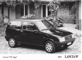 "Lancia Y10 ""ego"" - factory photo - 09/1991"