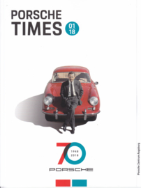 Porsche Times magazine, # 1-2018, 32 pages, PC Augsburg