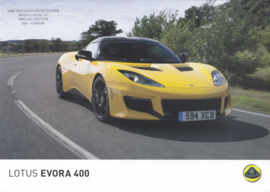 Evora 400 leaflet, 2 pages, DIN A4-size, factory-issued, English language