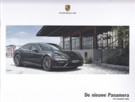 Panamera new model intro brochure, 24 pages, A4-size, 06/2016, Dutch