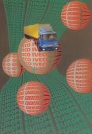 Truck postcard, DIN A6-size, Italian issue, 1982/83