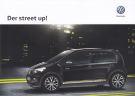 Street up! brochure, A4-size, 6 pages, German language, 05/2015