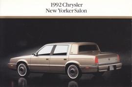 New Yorker Salon, US postcard, continental size, 1992